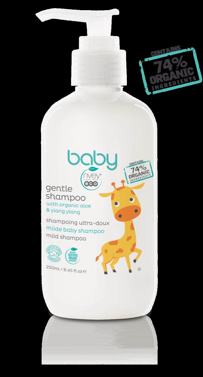 Jemný detský šampón