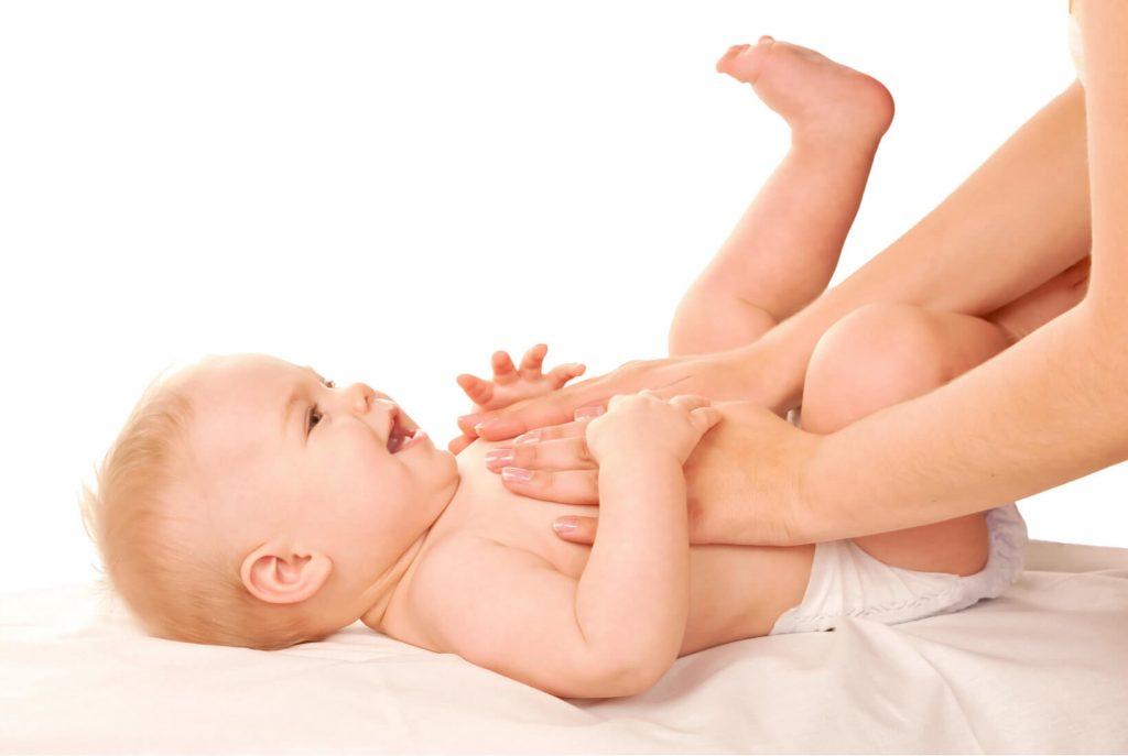 Masáž dieťatka