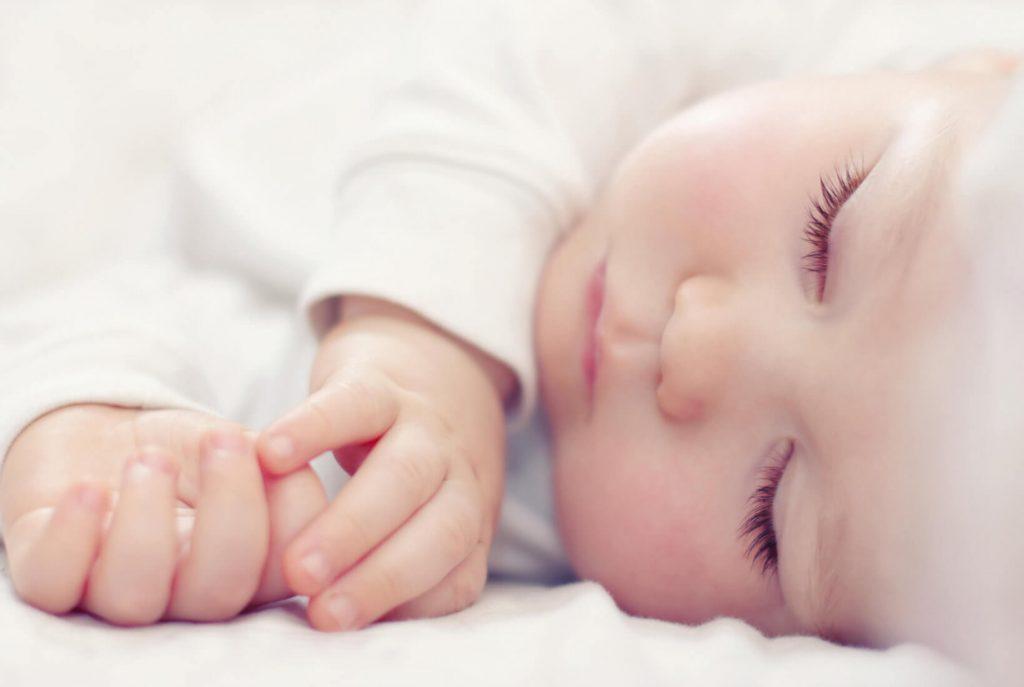 Spiace bábätko